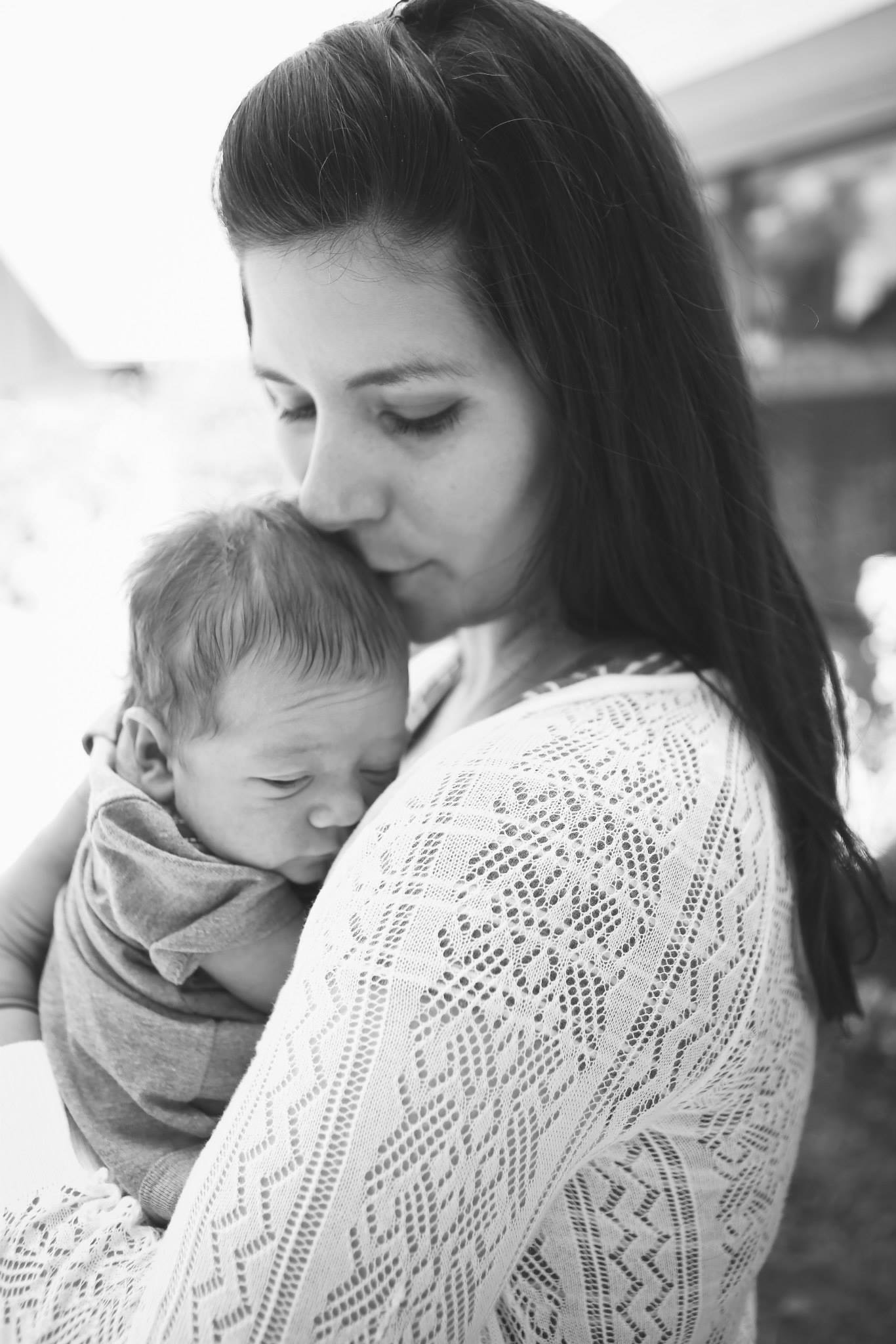 My Story - My one month old son and I