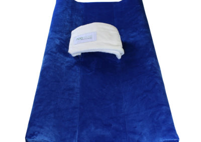 Blue Poopoose Changing Pad Cover