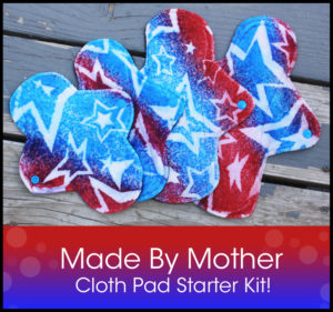 Postpartum Cloth Pads - Made By Mother Giveaway