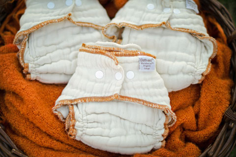 Newborn Cloth Diapers - Cloth-eez workhorse fitteds